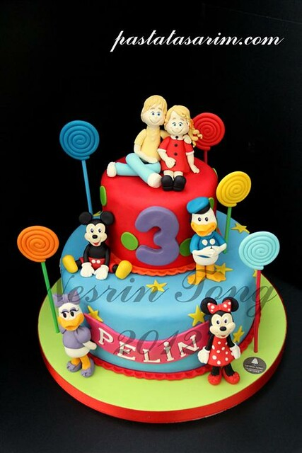 PELIN BIRTHDAY CAKE - DISNEY (Medium)