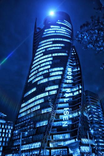 Blue tower (੭ˊ͈ ꒵ˋ͈)੭̸*✧⁺˚