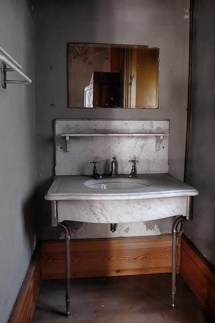 El pequeño lavamanos