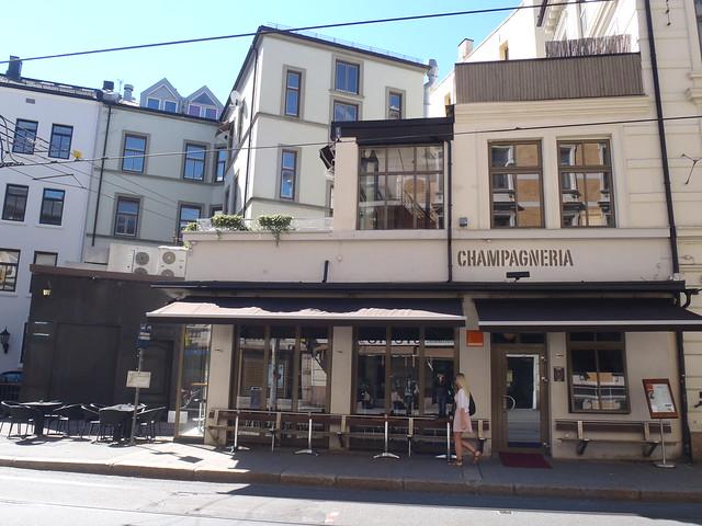 Champagneria, Frognerveien 2