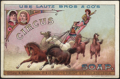 Use Lautz Bros & Co's Circus Soap. [front]