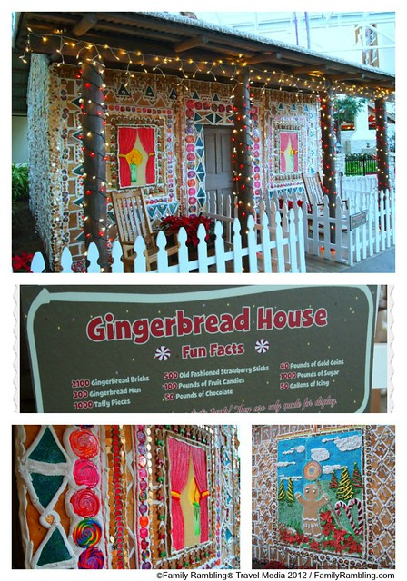 Lifesize gingerbread house, Gaylord Texan