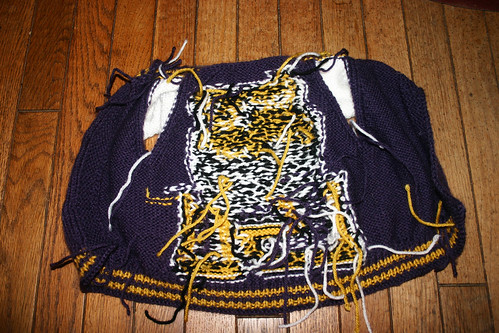 LSU Baby Sweater