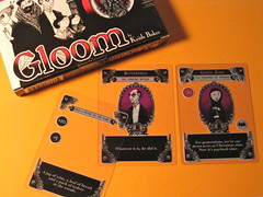 Gloom card game (Photo by J Burrell