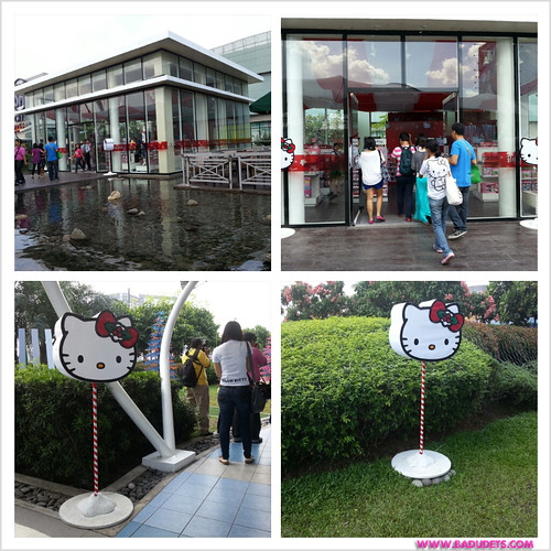 Time to purrrty at sm north edsas hello kitty christmas badudets make sure to check out sm north edsas stopboris Images