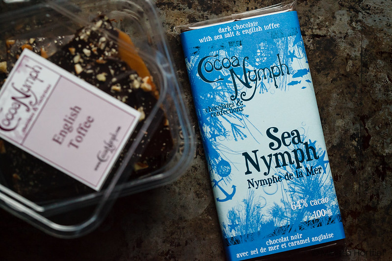 Sea Nymph Chocolate Bar and English Toffee