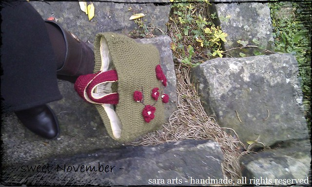 sweet November - crochet bag