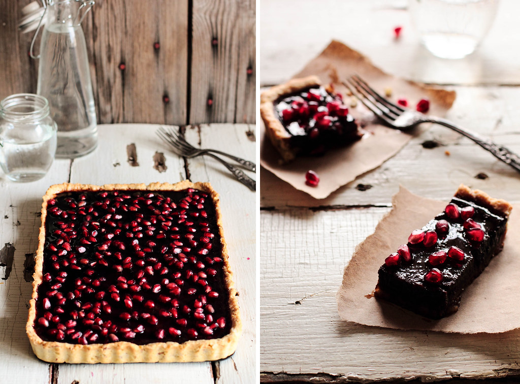 Pomegranate Chocolate Dessert Recipes — Dishmaps