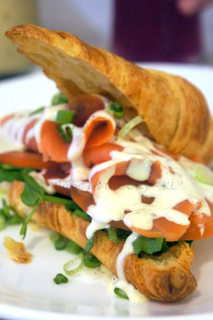 Smoked Salmon With Wasabi Mayo RM22.00