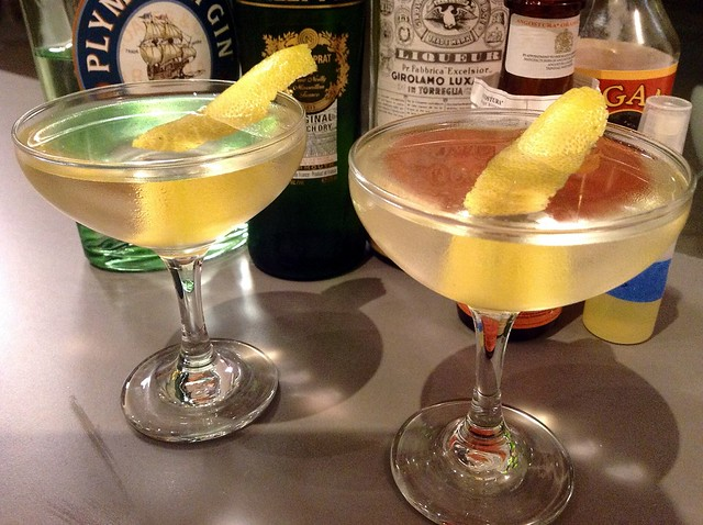 The Tuxedo (No 2) Cocktail Recipe — Dishmaps
