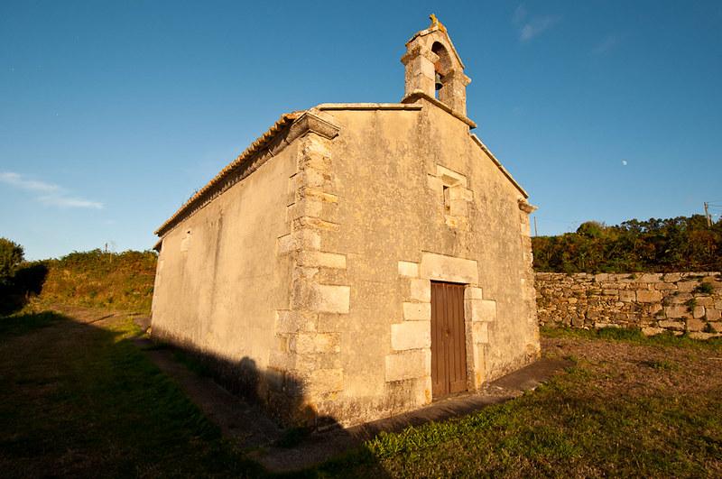 La capilla de San Antonio en Malpica de Bergantiños