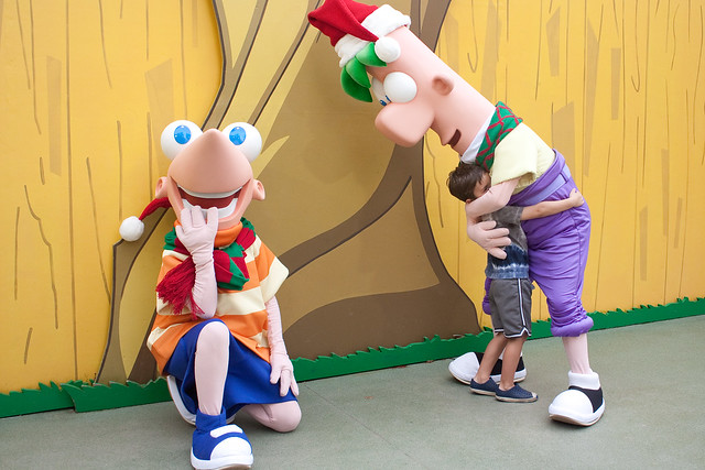 Phineas & Ferb at Disney's Hollywood Studios