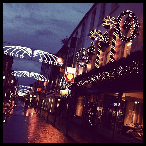 #cork city at Christmas.