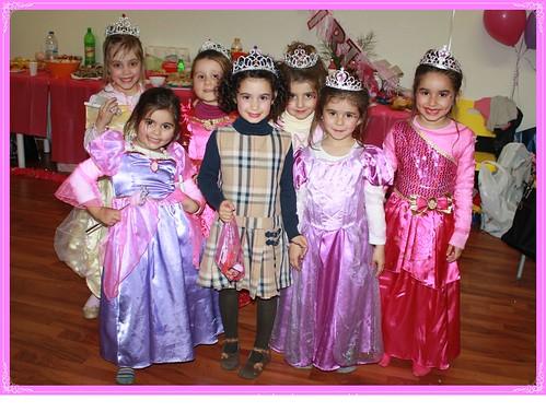 Festa princesas by Osbolosdasmanas