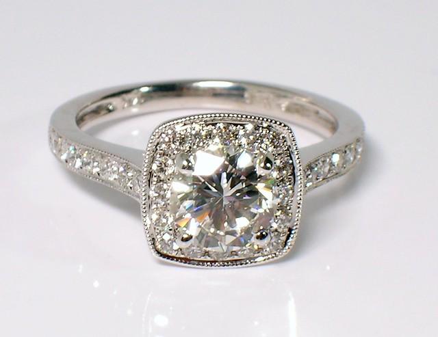 Diamond Halo Ring Shane Co Mounting Flickr Photo Sharing
