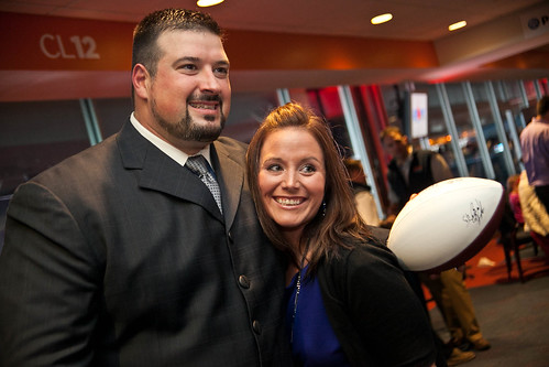 4 - Andruzzi and a fan