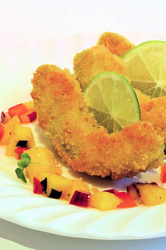 Crumbed avocado with mango salsa IMG_6178 ch R