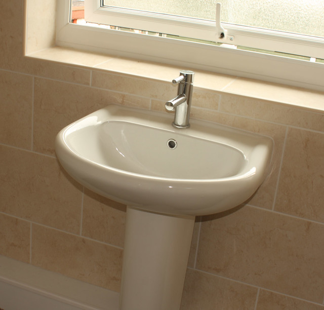 Installing a new sink - bathroom Flickr - Photo Sharing!