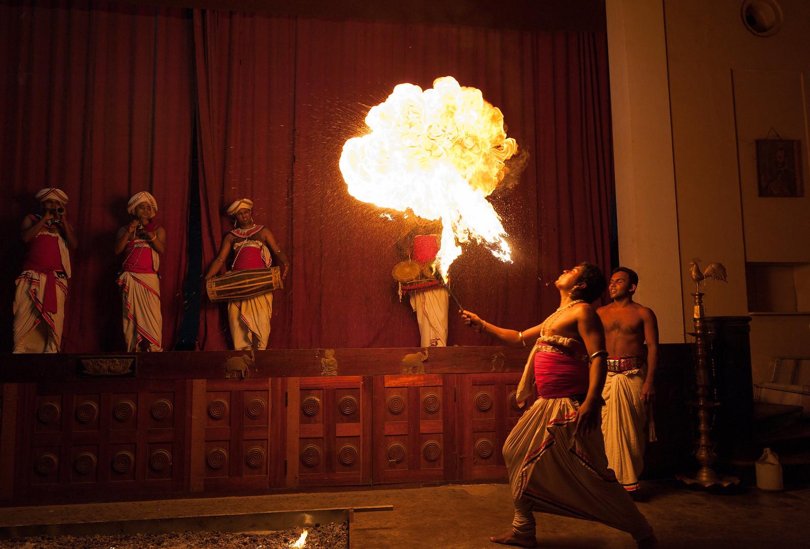 Kandyan Fire Dancers