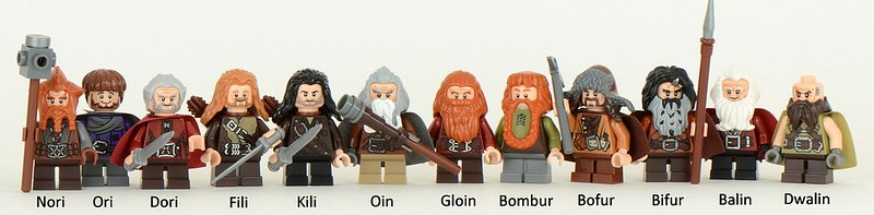The Company of Dwarves, LEGO style