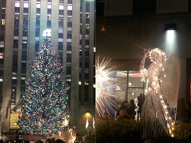 Rockefeller Center's Holiday Decorations