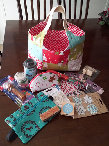 all the goodies i received from swap! everything was so awesome...cannot thank you enough Bonnie!! by thread of hearts