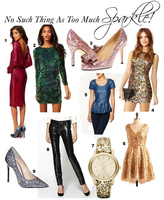 Livingaftermidnite: No Such Thing As Too Much Sparkle