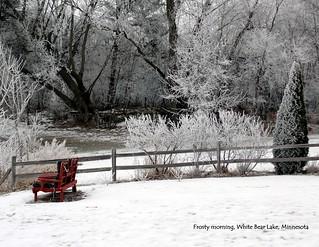 01 January - Frosty Morning in White Bear Lake Minnesota