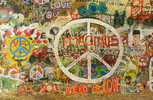 R.I.P. John Lennon - Imagine Peace - All You Need is Love