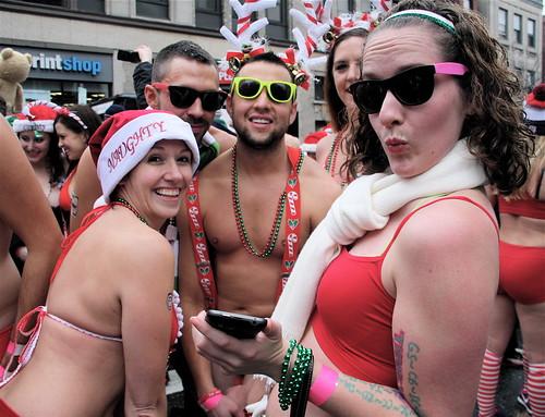 boston santa speedo run 2012 12