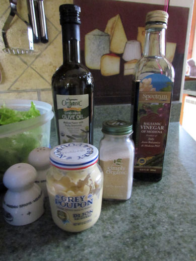 Homemade Salad Dressing Ingredients