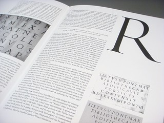 The Baroque Inscriptional Letter in Rome booklet by James Mosley