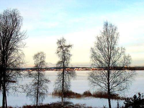 Frozen Arvika Lake