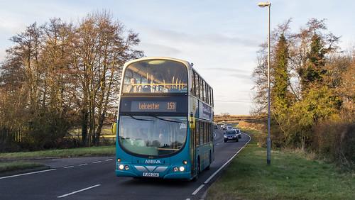 Arriva 4752 at Osbaston, Leicestershire