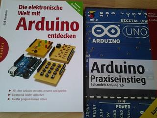 Weihnachtsverlosung 2012 - 2 Arduino-Bücher zu gewinnen