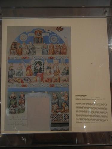DSCN3877 _ Allegoria di Sant'Agostino come Maestro dell'Ordine (fascimile del disegno a tempera su carta), Girolamo Domenichini