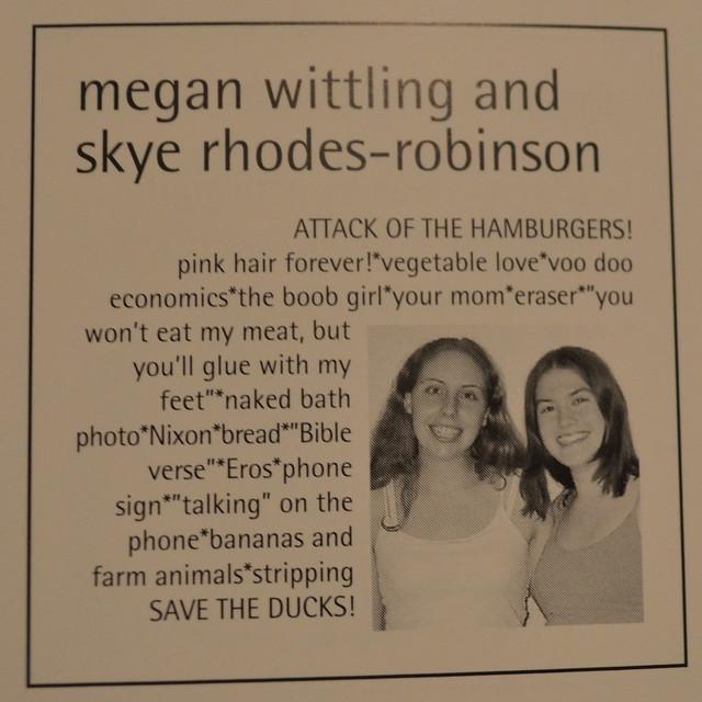 Megan & Skye senior ad