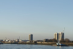 View across the river from Woolwich