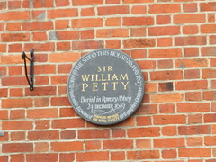 Photo of William Perry slate plaque
