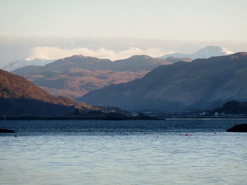 Loch Carron and Wester Ross from Plockton