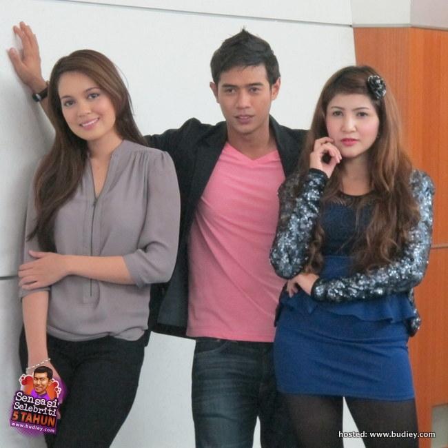 Pelakon Drama 'Setia Hujung Nyawa', Amar Ashraf, Nelydia Senrose & Bea