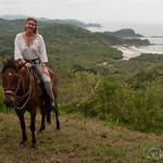 Audrey, Horse, Overlook - Morgan's Rock, Nicaragua