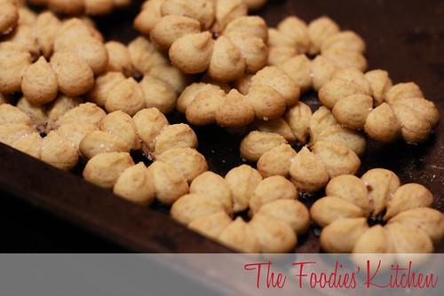 Honey Spritz Cookies