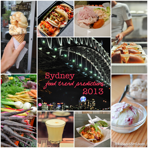 2013 Sydney Food Trend Predictions