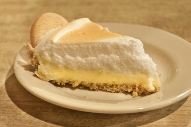 Delectable Lemon Meringue Pie at Palace Cafe, Opelousas, LA | PopArtichoke