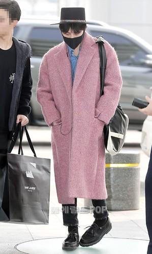 Big Bang - Incheon Airport - 21mar2015 - G-Dragon - Herald Corp - 05