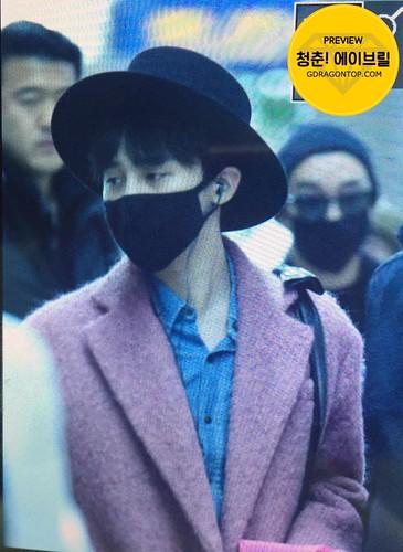 Big Bang - Incheon Airport - 21mar2015 - G-Dragon - avril_gdtop - 02