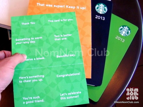 Starbucks Planner 2013 Coupons