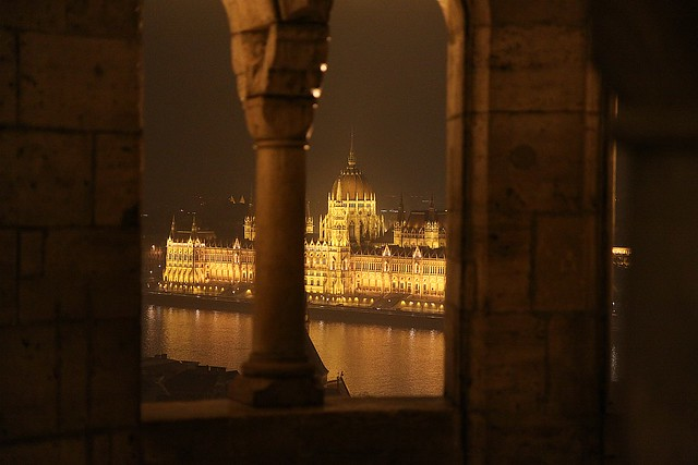 The Parliament from the Fishermen's Bastion
