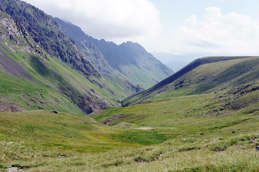 Эльбрус, долина нарзанов Джилы Су, Россия 2012